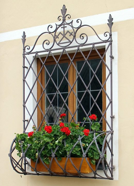 Gate on a window